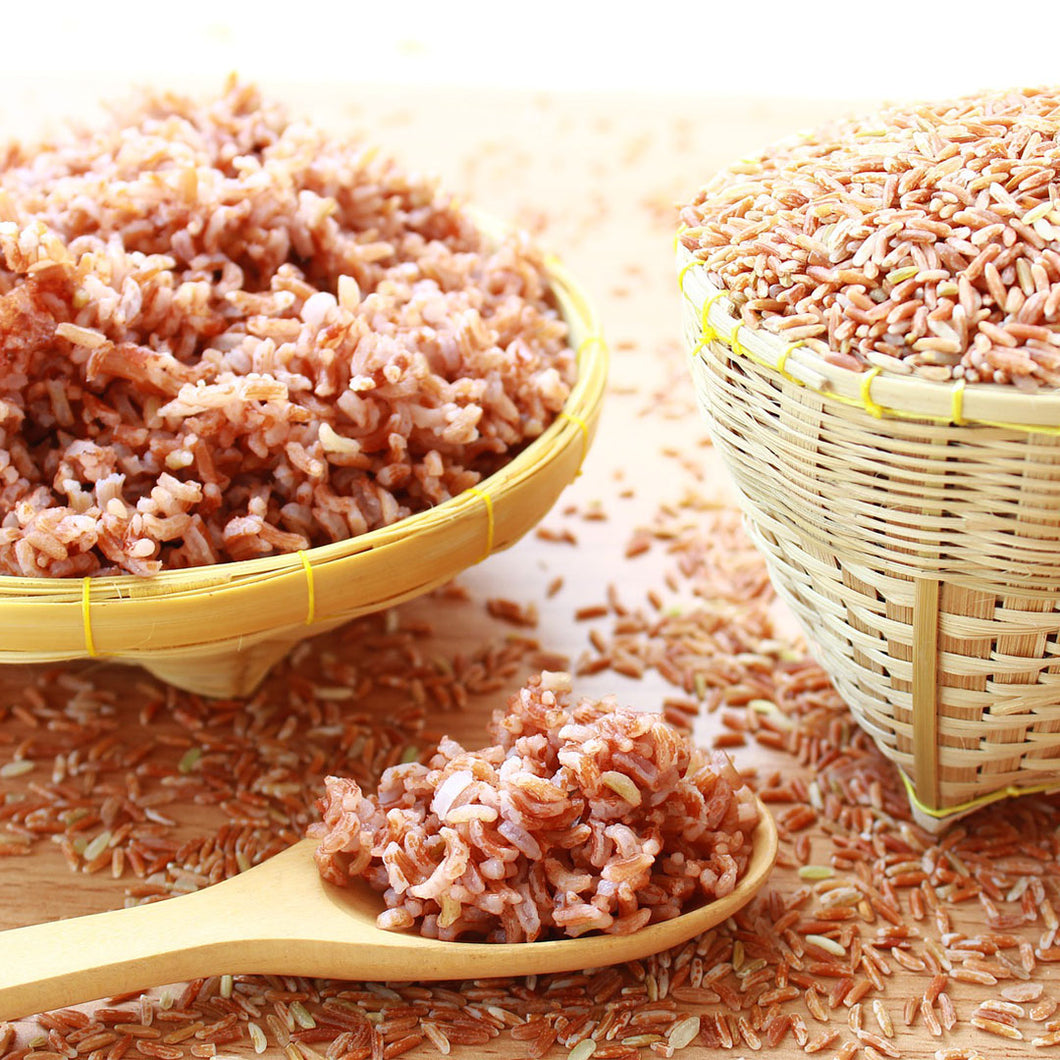 healthy organic red rice from bigas online