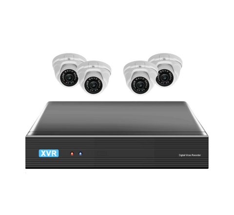 4 Camera 4 Channel HD Realtime DVR CCTV Security System - CCTV Central