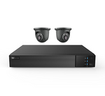 2 Camera 4 Channel HD Realtime DVR Security System - CCTV Central