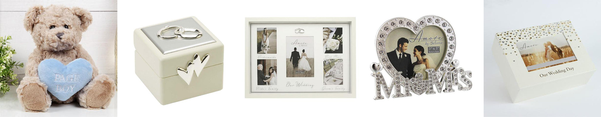 wedding anniversary gifts by Amore by Juliana, perfect wedding gift ideas