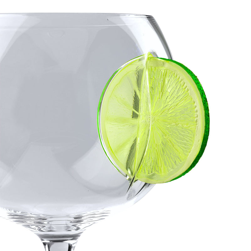 Ice & Slice Balloon Copa Glass - Lime