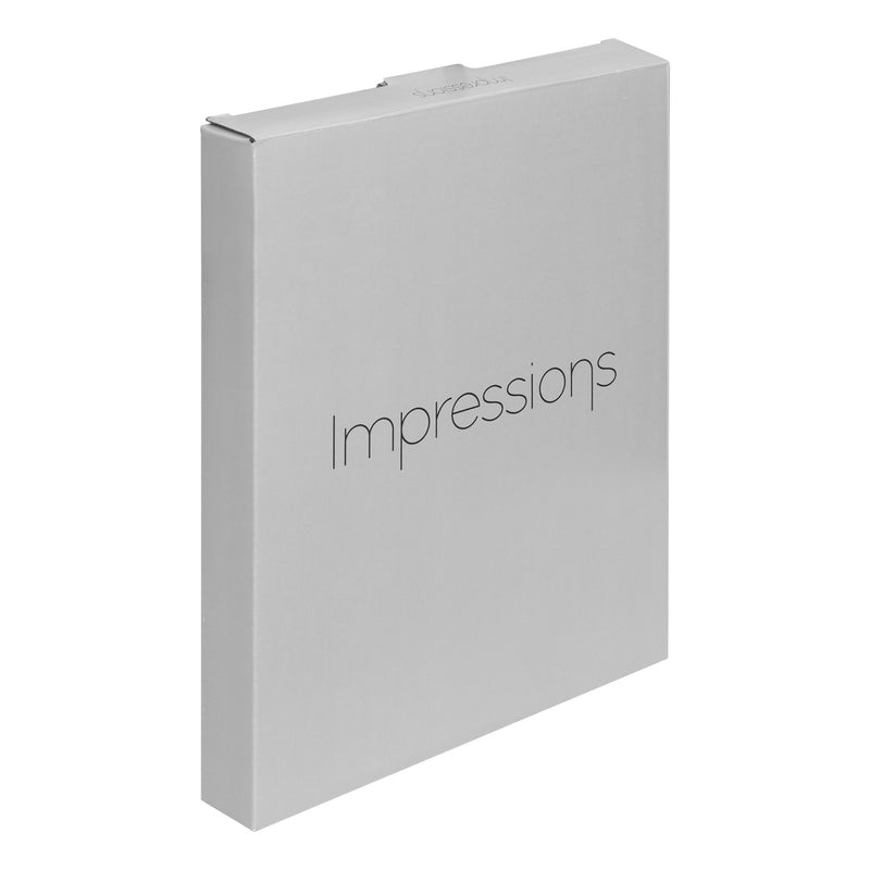 "8"" x 10"" - Impressions Silver Plated Photo Frame"