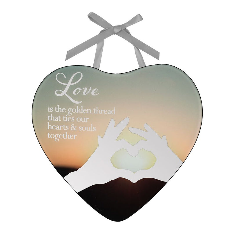 Reflections Of The Heart Love Plaque