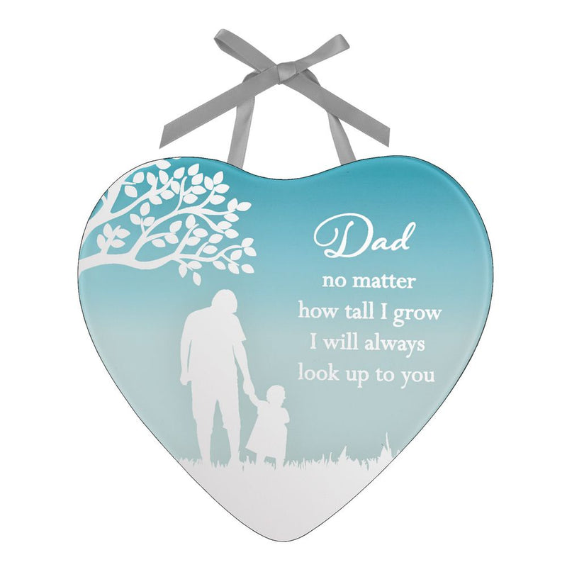 Reflections Of The Heart Dad & Daughter Plaque