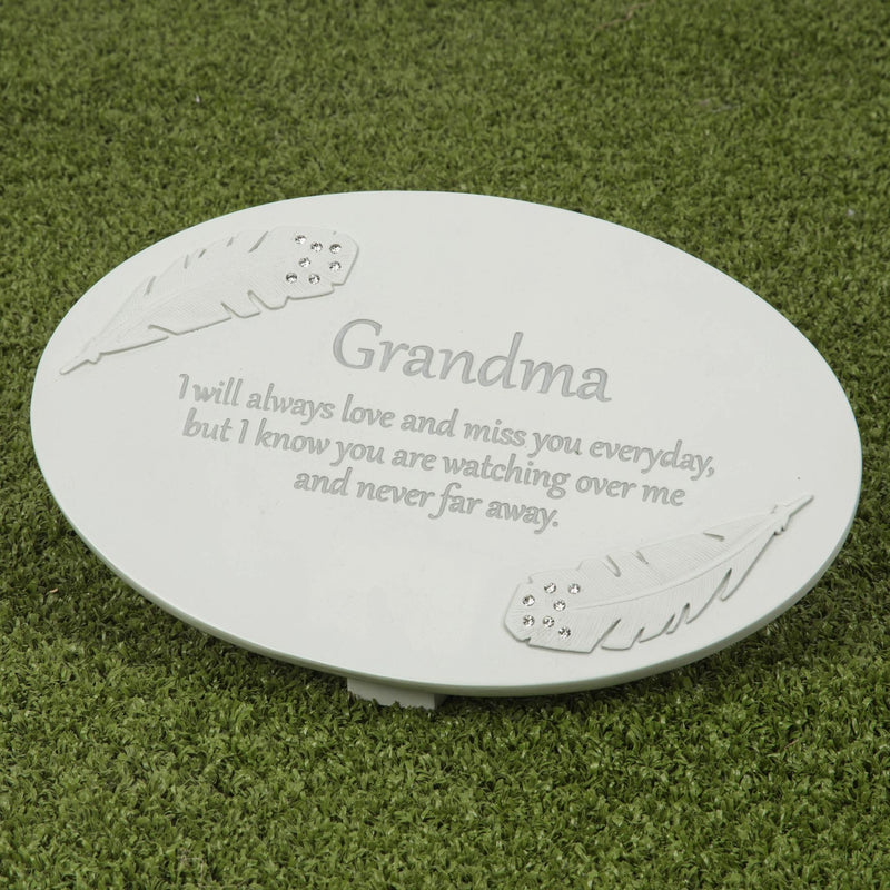 Thoughts of You Resin Memorial Plaque - Grandma
