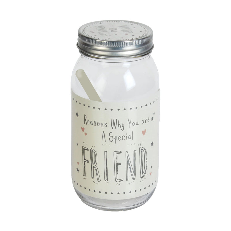 Love Life Glass Wish Jar - Special Friend