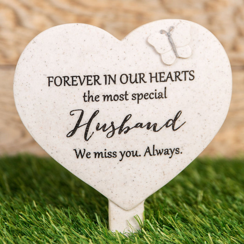Thoughts Of You 'Husband' Graveside Stake