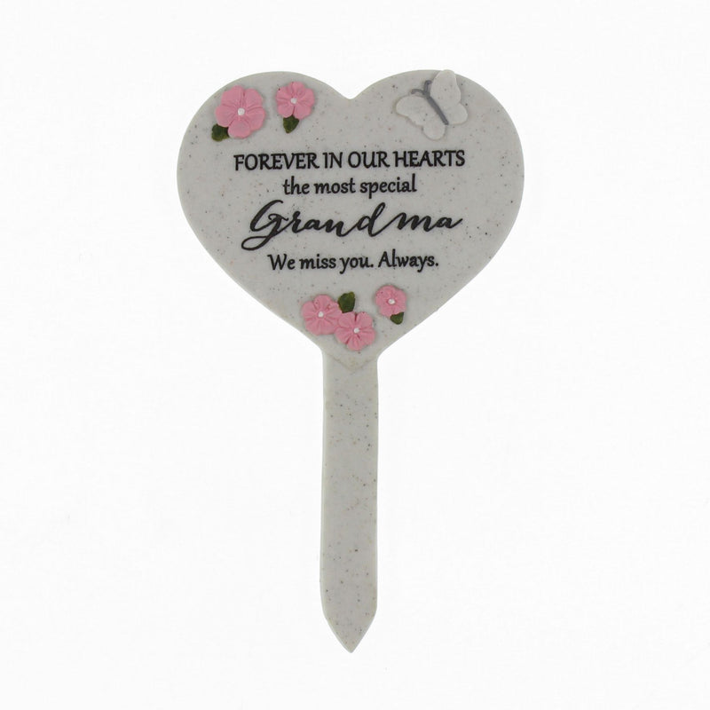 Thoughts Of You Heart 'Grandma' Graveside Stake