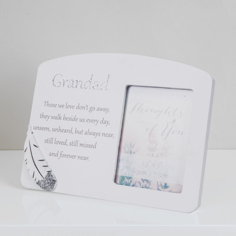 "2.5"" x 3"" - Thoughts of You Memorial Frame - Grandad"