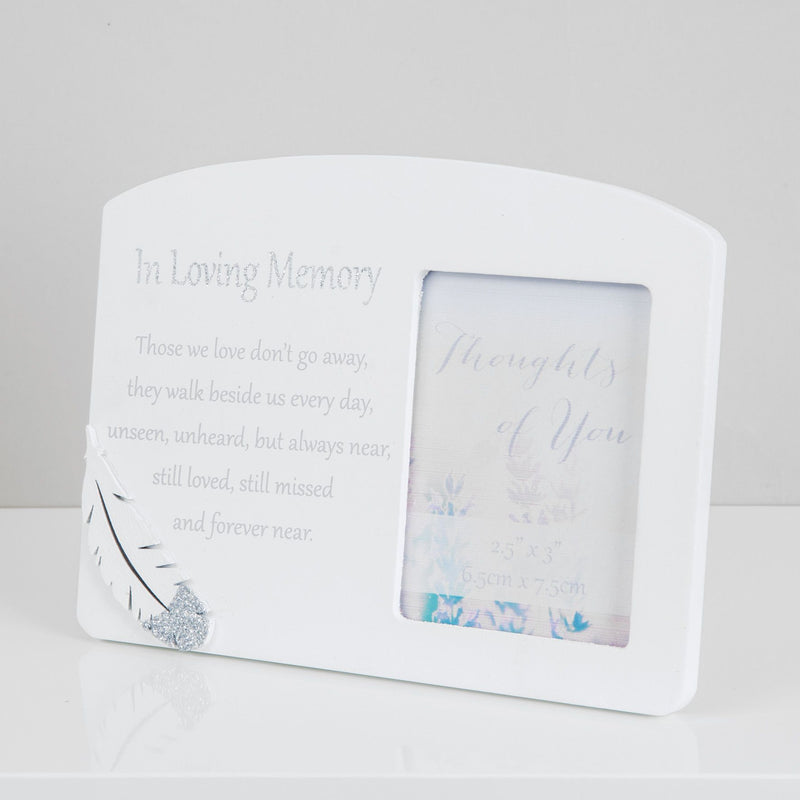 "2.5"" x 3"" - Thoughts of You Memorial Frame - Loving Memory"