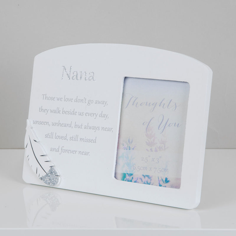 "2.5"" x 3"" - Thoughts of You Memorial Frame - Nana"