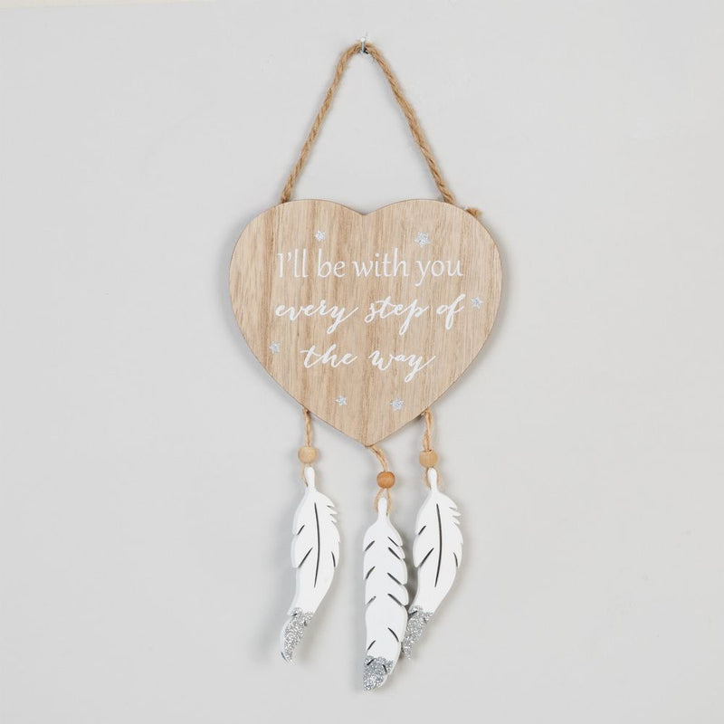 Thoughts of You Heart Plaque - Forever