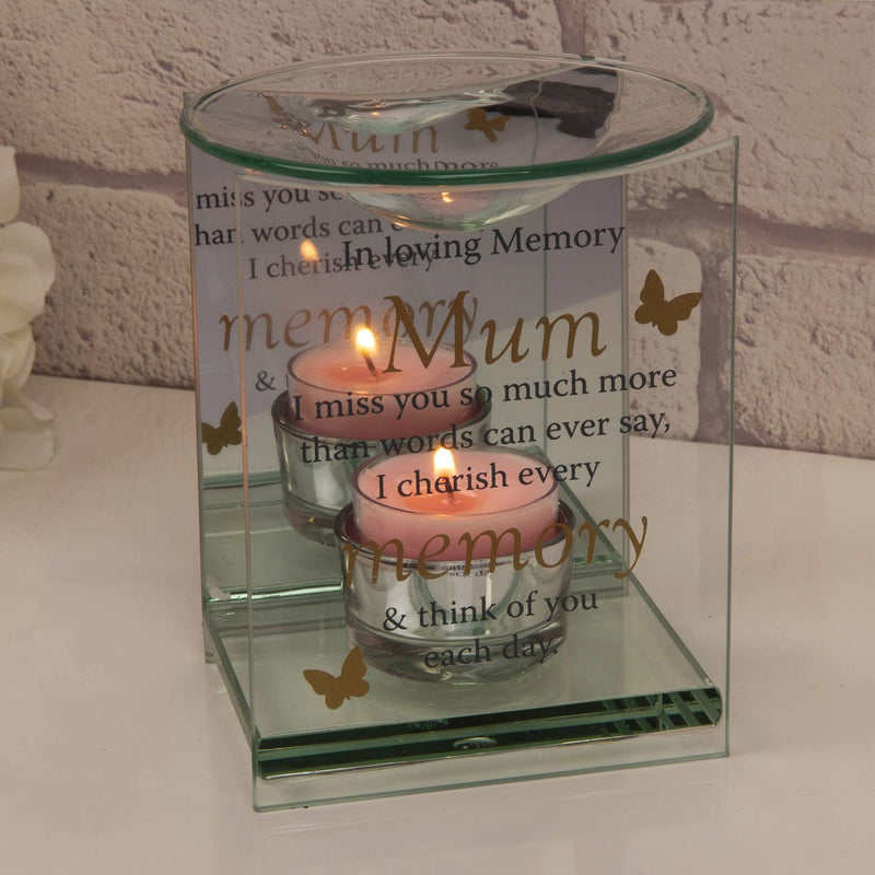 Thoughts of You Butterfly Oil Burner - Mum