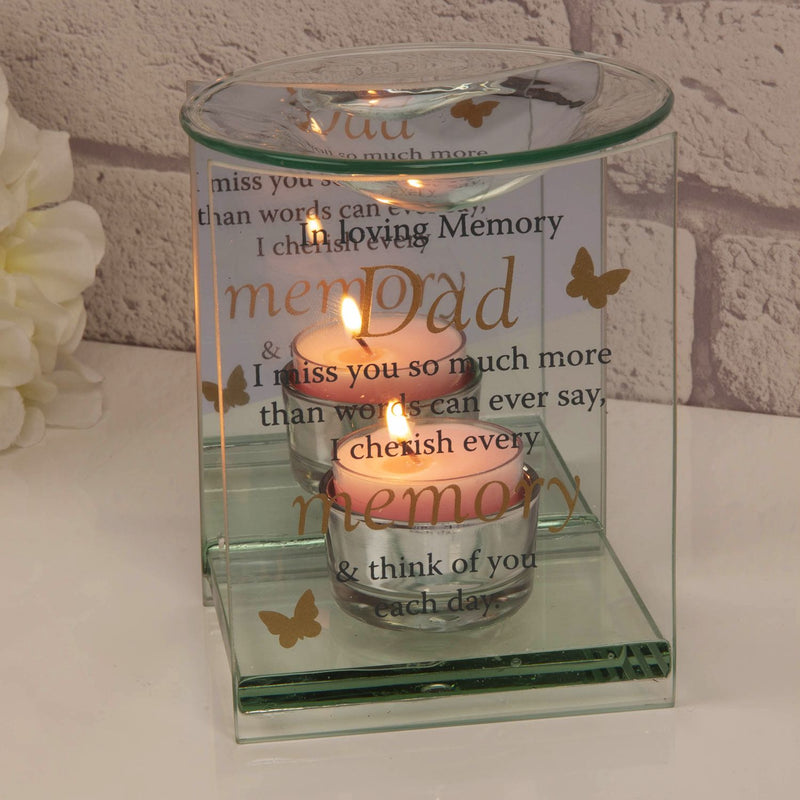 Thoughts of You Butterfly Oil Burner - Dad