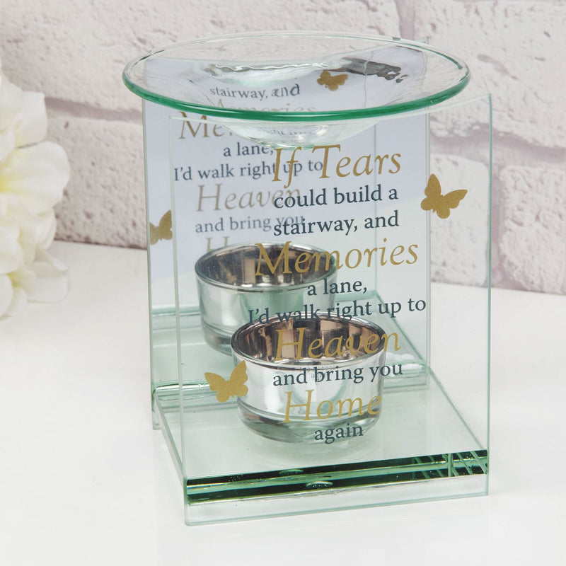 Thoughts of You Butterfly Oil Burner - Stairway to Heaven