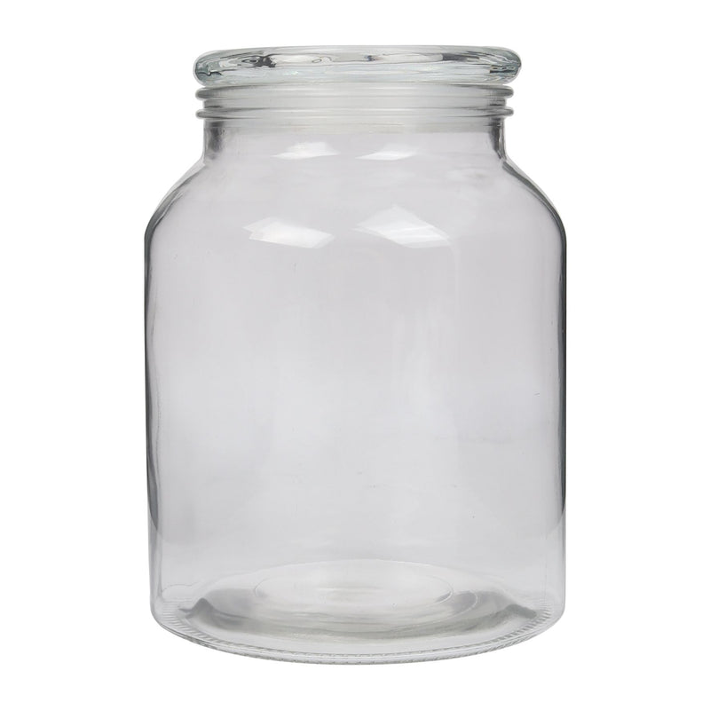 Clear Glass Vintage Jar 21.5cm