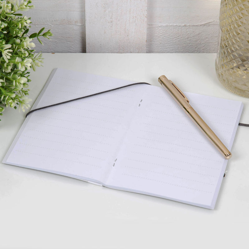 AMORE BY JULIANA® Leatherette Usher A6 Notebook