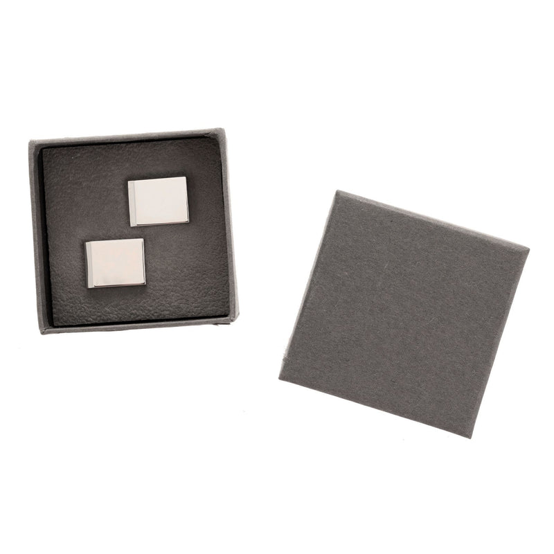 AMORE BY JULIANA® Engravable Rectangular Cufflinks