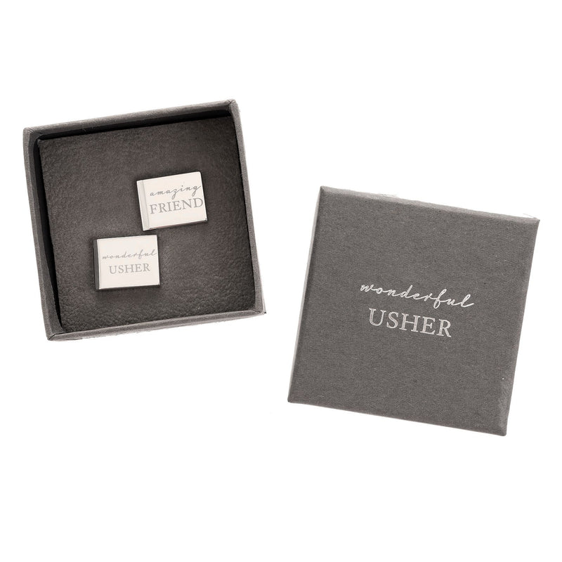 AMORE BY JULIANA® Amazing Friend - Wonderful Usher Cufflinks