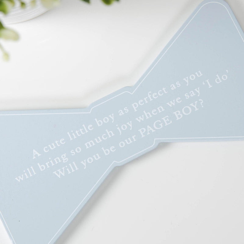 AMORE BY JULIANA® Page Boy Bow Tie Plaque