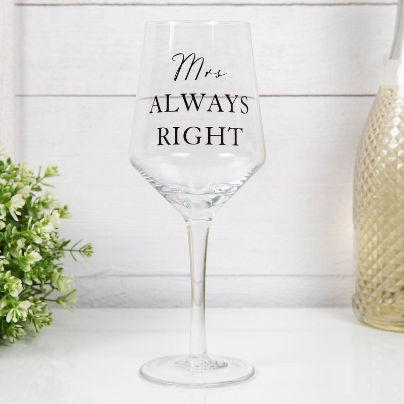 AMORE BY JULIANA® Luxury Beer & Wine Glass Set - Mr & Mrs