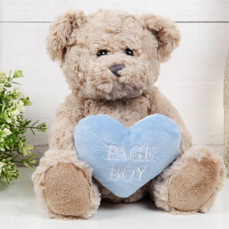 AMORE BY JULIANA® Page Boy Teddy Bear