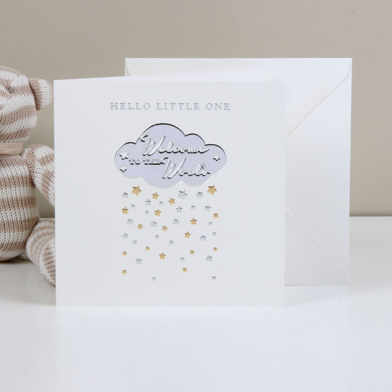 Bambino Deluxe Card - Welcome To The World