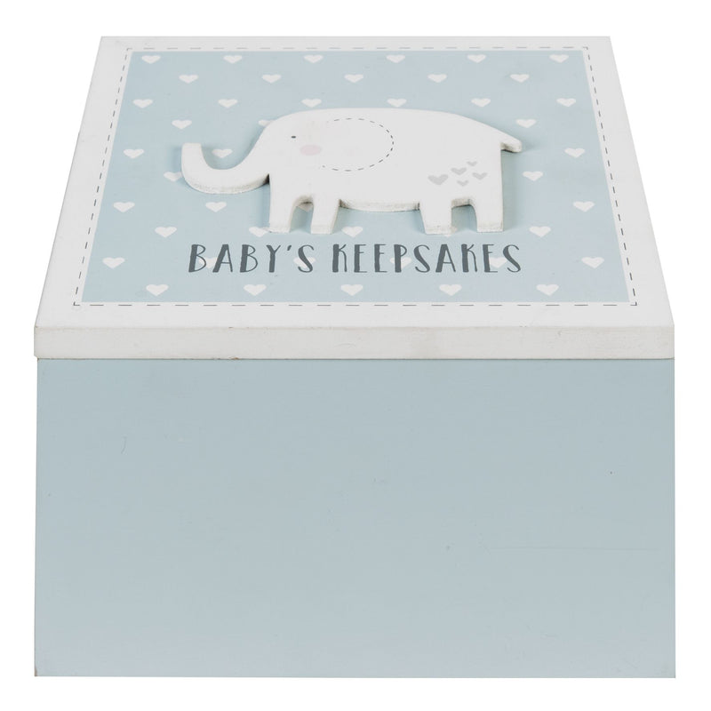 Petit Cheri Blue Baby's Keepsake Box