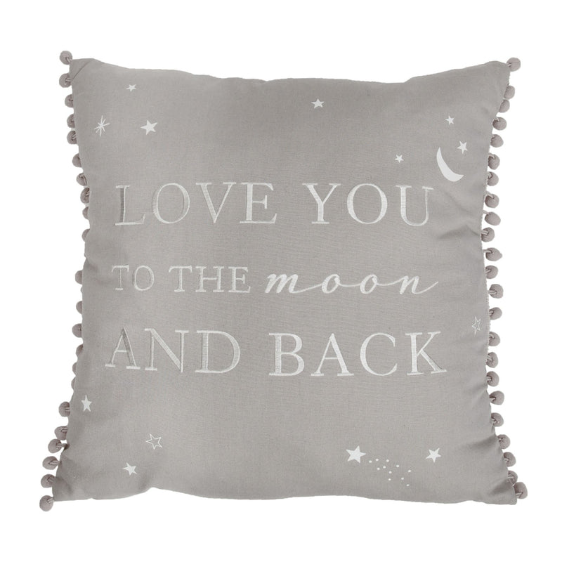 Bambino Linen Cushion Love You To The Moon & Back