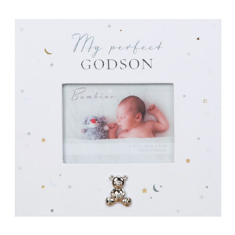"4"" x 3"" - Bambino Paperwrap Godson Photo Frame"