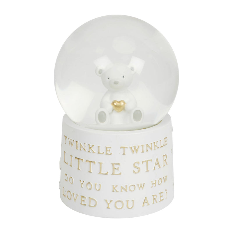 Bambino Resin Snow Globe with Music