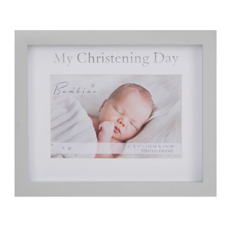 "4"" x 6"" - Bambino My Christening Day Frame in Gift Box"