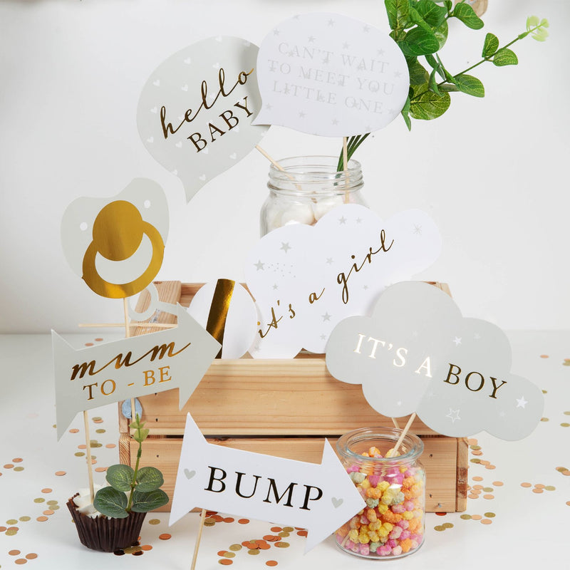 Bambino Baby Shower Photo Booth Props