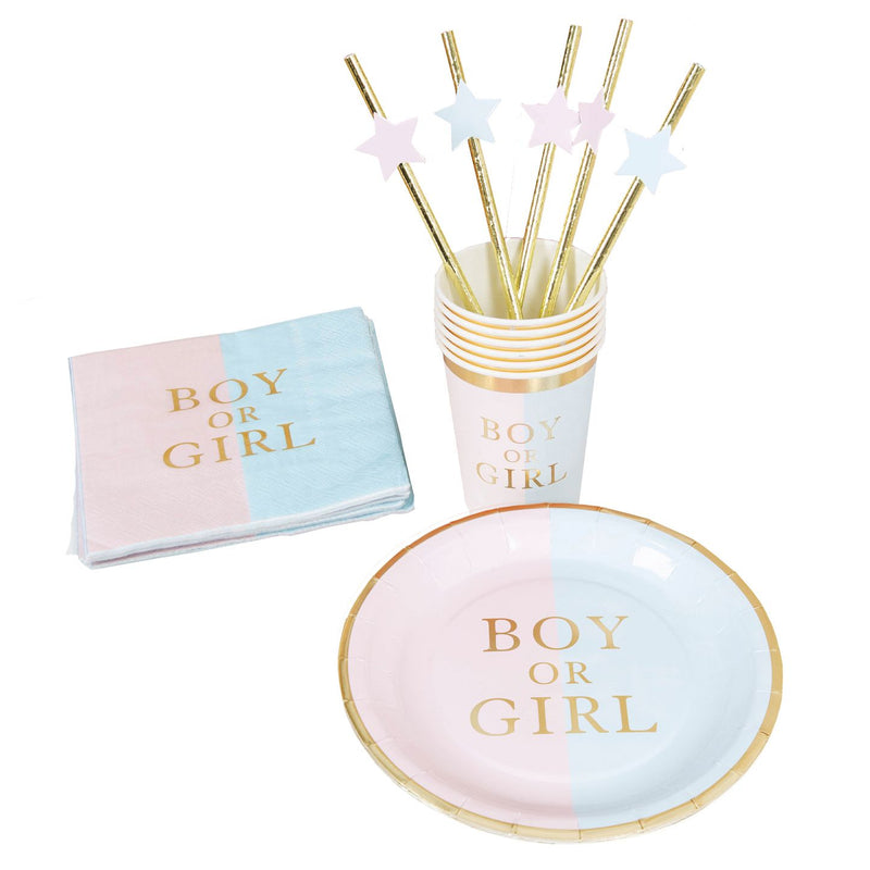 Bambino Gender Reveal Party Pack - Hello Baby