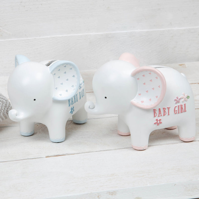 Petit Cheri Elephant Money Box - Baby Girl