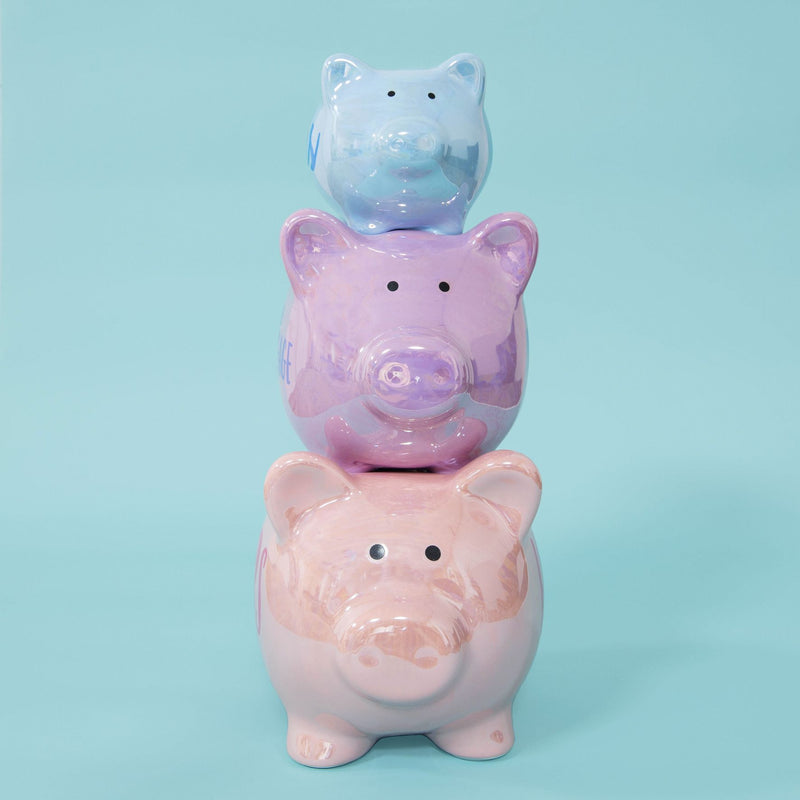 Pennies & Dreams Triple Piggy Bank - His, The Mortgage, Hers