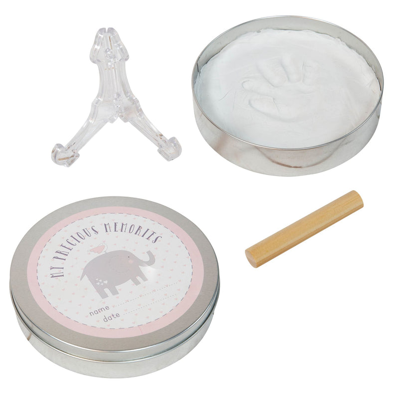 Petit Cheri Hand Or Foot Imprint Kit in A Tin - Pink