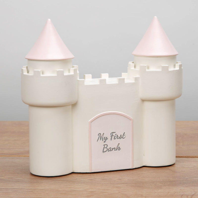 CELEBRATIONS® Castle Money Box - Pink
