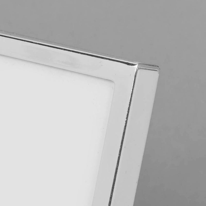 "5"" x 7"" - Bambino Silver Plated Photo Frame Christening Day"
