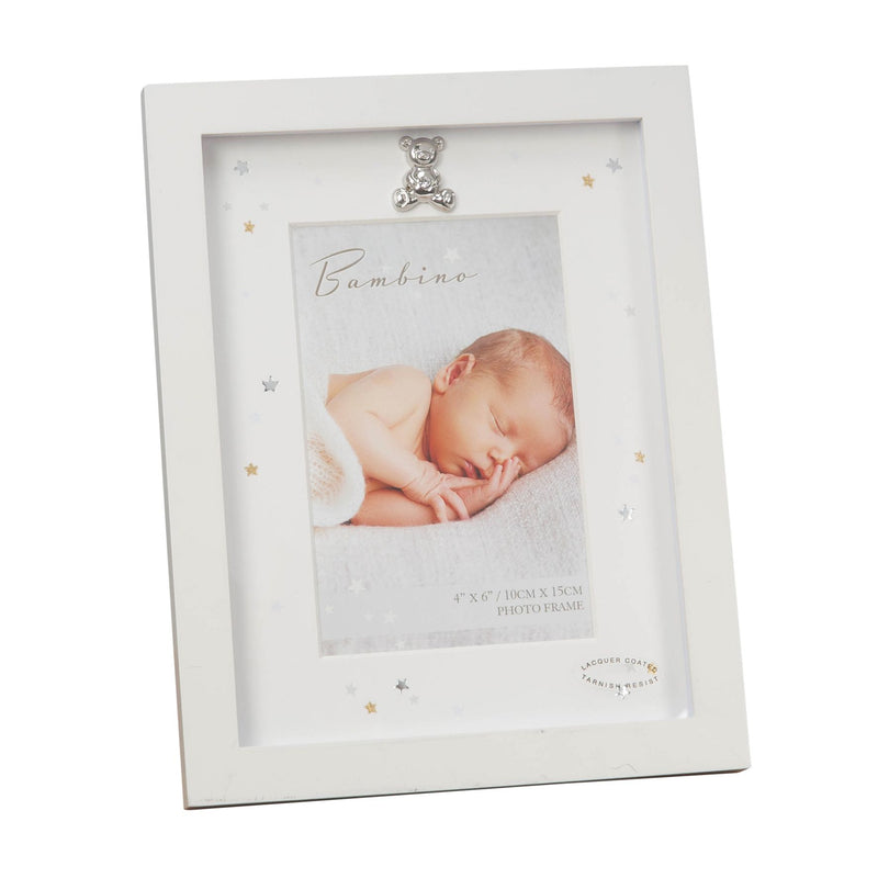 "4"" x 6"" - Bambino Photo Frame with Ivory Mount"