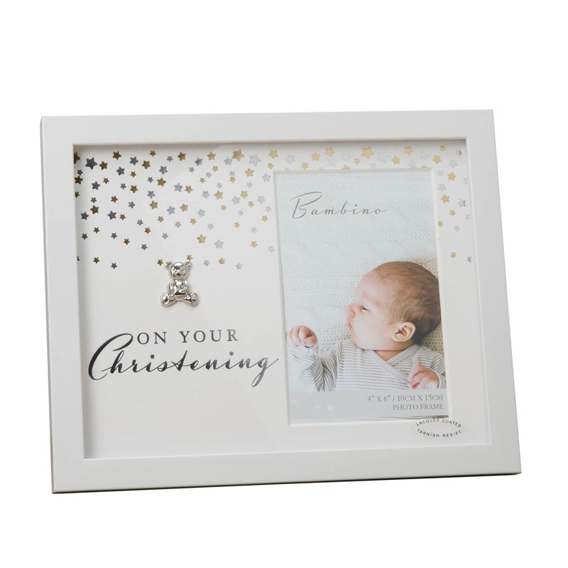 "4"" x 6"" - Bambino Photo Frame - Your Christening"