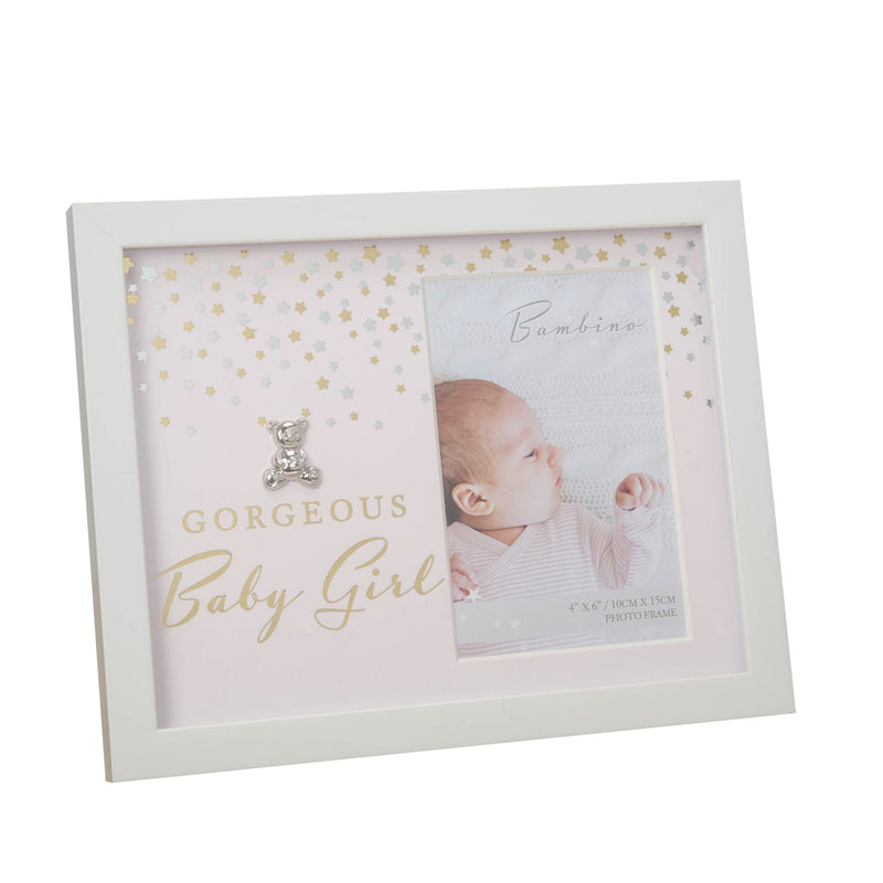 "4"" x 6"" - Bambino Photo Frame - Gorgeous Baby Girl"