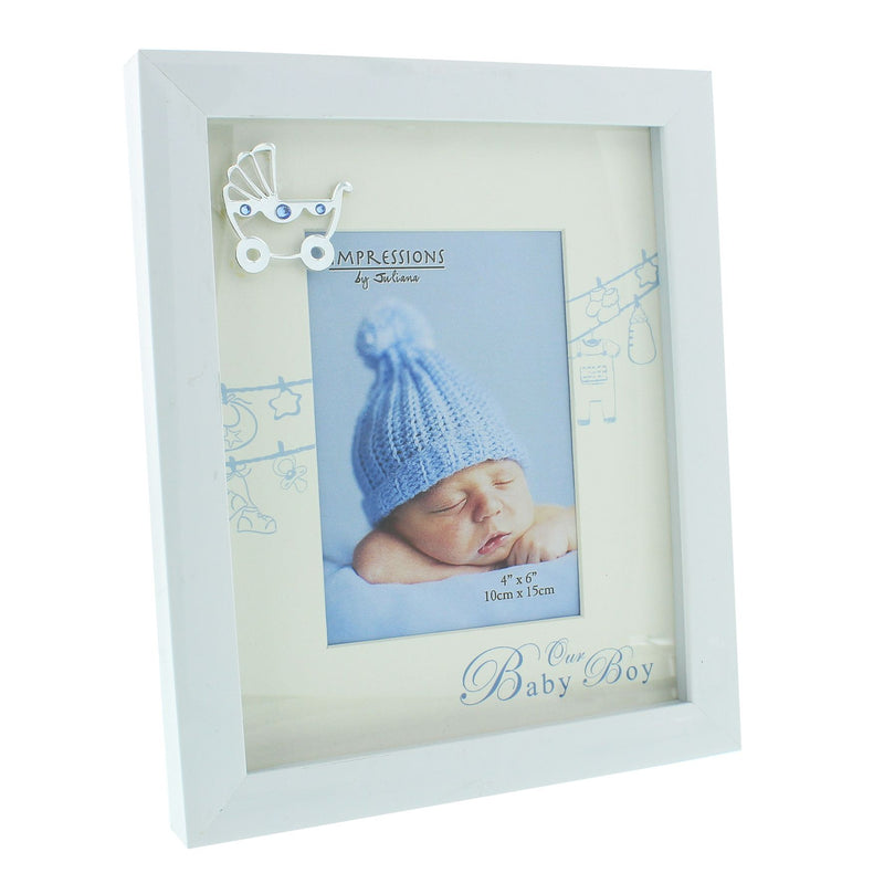 "4"" x 6"" - Celebrations Our Baby Boy Photo Frame"