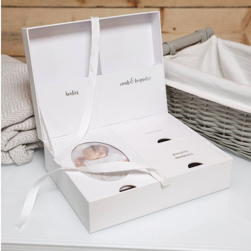 Twinkle Twinkle Baby Keepsake Box with 5 Compartments