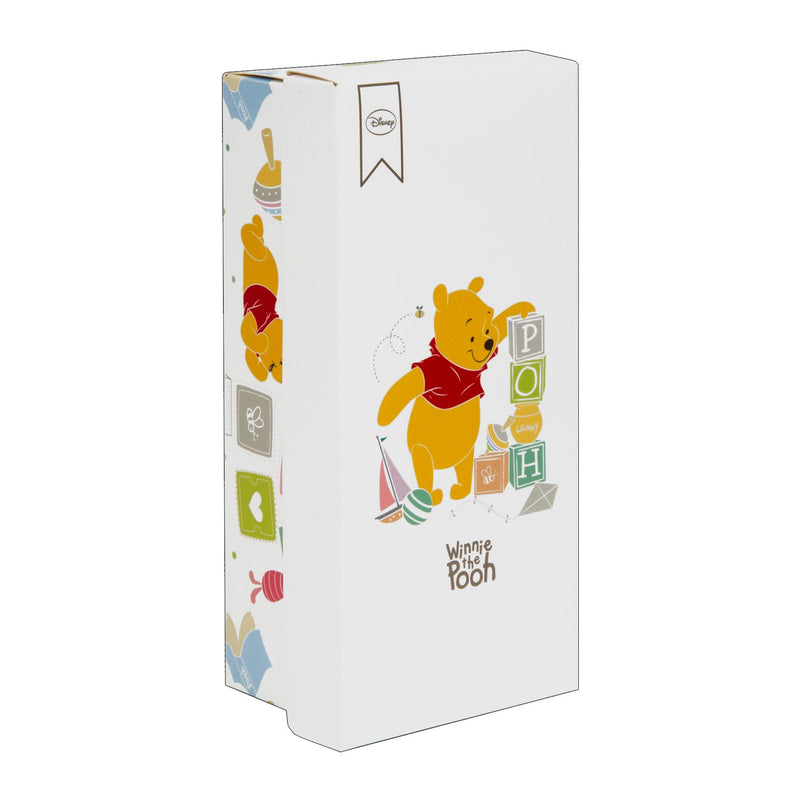 Disney Winnie the Pooh Silver Plated Hair Brush & Comb Set