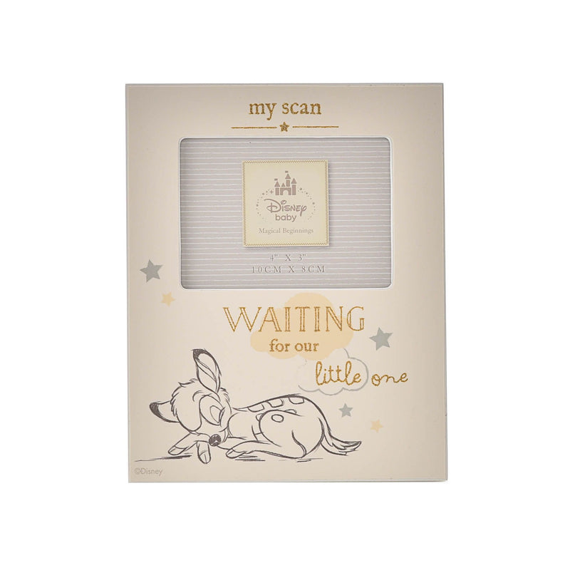 "4"" x 3"" - Disney Magical Beginnings Baby Scan Frame - Bambi"