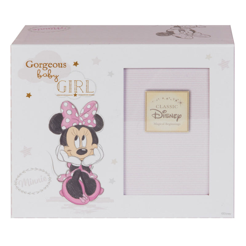 Disney Magical Beginnings Keepsake Photo Box - Minnie