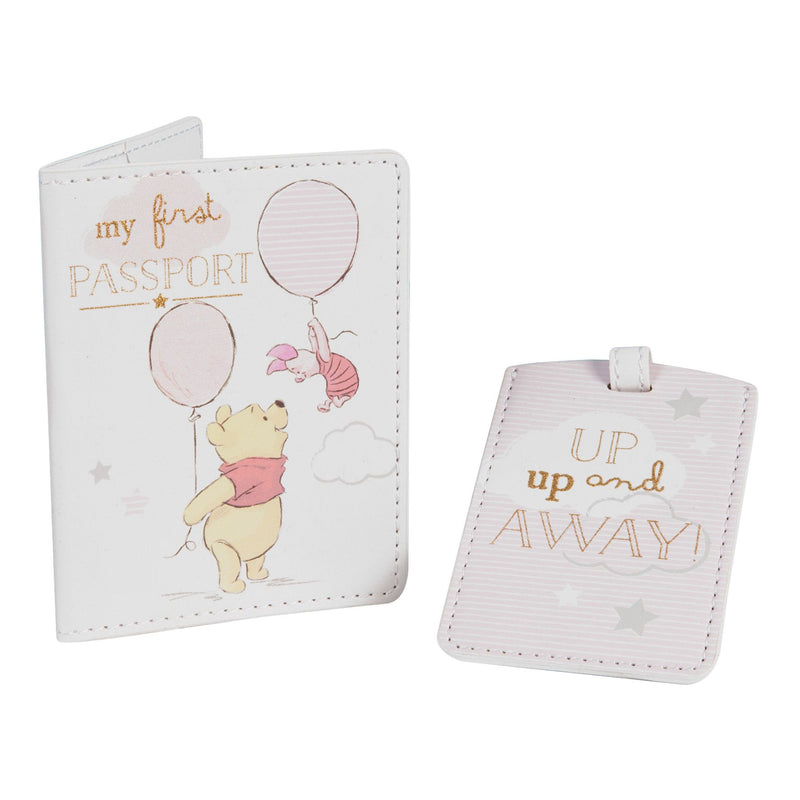 Disney Magical Beginnings Passport & Luggage Tag Pooh Girl