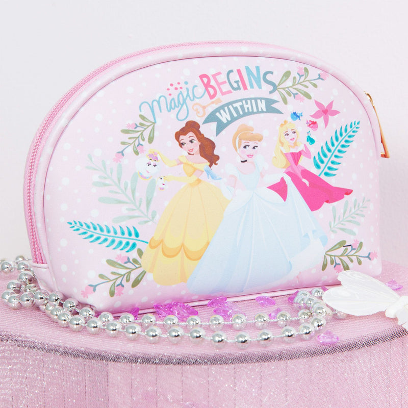Disney True Princess Pink Cosmetic Bag - Magic Begins Within