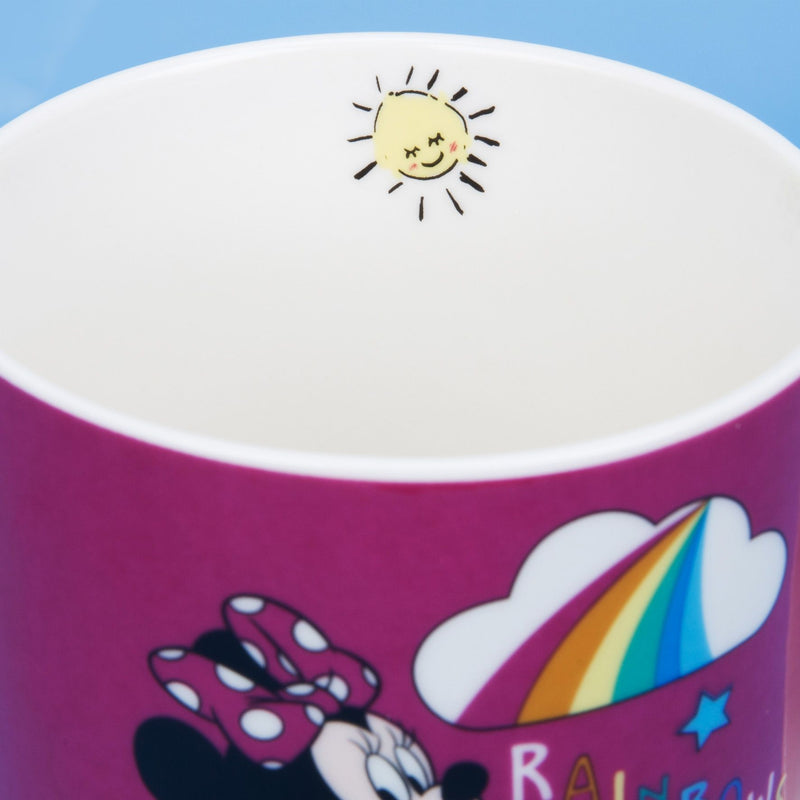 Disney Minnie Mouse Pink Rainbow Mug